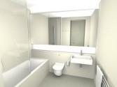 Hotel bathroom CGI rhwl